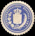 Siegelmarke Grossherzogliches Hofstall - Amt W0221157.jpg