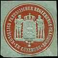 Siegelmarke Königlich Preussischer Regierungs - Präsident zu Lüneburg W0246281.jpg
