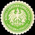 Siegelmarke Königliche Gärtner-Lehranstalt zu Dahlem bei Steglitz W0262509.jpg