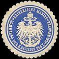 Siegelmarke Kaiserliche Marine - Kommando der II. Division des I. Geschwaders W0239797.jpg
