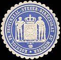 Siegelmarke Koeniglich Preussische Provinzial - Steuer - Directorat zu Münster W0204475.jpg