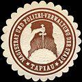 Siegelmarke Magistrat und Polizei - Verwaltung der Stadt - Tapiau W0216668.jpg