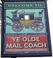 Sign for Ye Olde Mail Coach - geograph.org.uk - 1003230.jpg