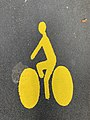 Signalisation Horizontale Cyclistes Rue Jean Douat Fontenay Bois 1.jpg
