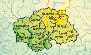 Šilalė District Municipality - Image: Silales Rajono Seniunijos