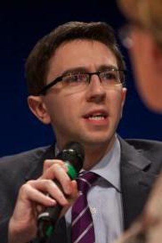 Minister for Health (Ireland) - Image: Simon Harris 2012 (cropped)