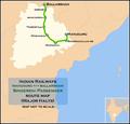 Singereni Passenger (Manuguru - Ballarshah) route map.png