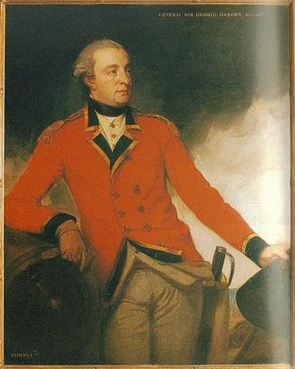 73rd (Perthshire) Regiment of Foot - Sir George Osborn, 4th Baronet, First colonel of the regiment, by George Romney