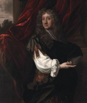 Sir Ralph Verney, 1st Baronet, of Middle Claydon - Portrait, oil, of Sir Ralph Verney, 1st Bt by Sir Peter Lely (1618–1680).