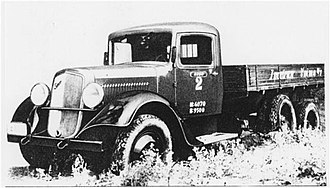 Sisu Auto - Three-axle Sisu SH-3R-LF from 1935.
