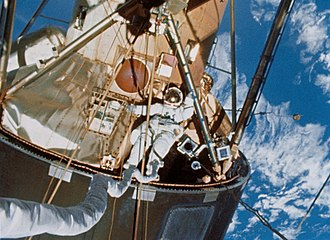 Edward Gibson - Gibson's spacewalk during his time on Skylab 4