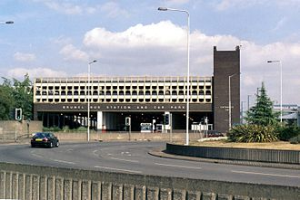 Slough - The Brunel bus station and car park, opened in 1975 has now been demolished as work has started on the Heart of Slough project.