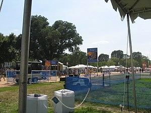 Smithsonian Folklife Festival - Image: Smithsonian Folklife Festival Texas tents