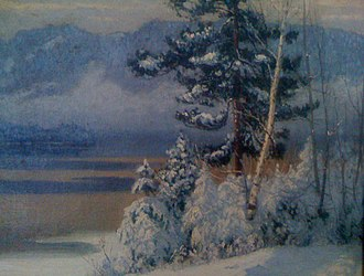 Maurice Cullen (artist) - Image: Snowfall, Lac Tremblant