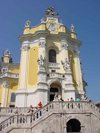 St. George's Cathedral, Lviv - Image: Sobor Sw Jura Lwow 2
