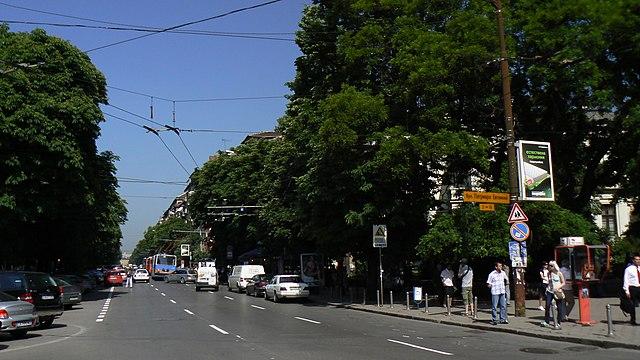 Patriarch Evtimiy Boulevard