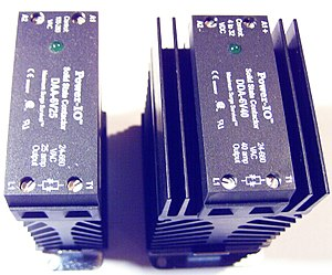 Solid-state relay - Solid state contactor.