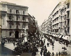 Sommer, Giorgio (1834-1914) - n. 6110 - Napoli - via Roma - (alternative take).jpg