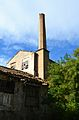 Soneja, xemeneia de l'antiga fàbrica de paper de seda.JPG
