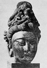 Head of bodhisattva Mahāsthāmaprāpta