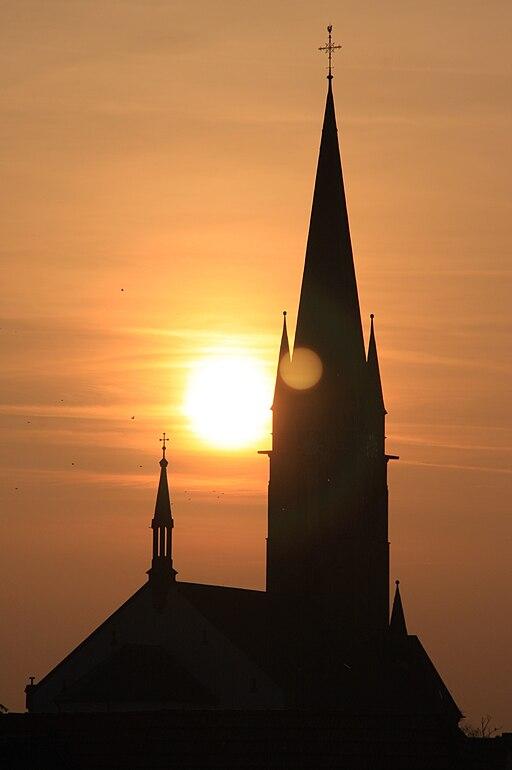 Sonnenuntergang Bellheim