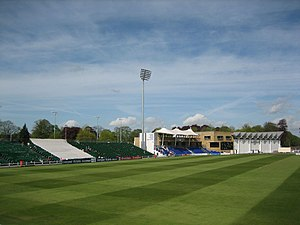 Sophia Gardens (cricket ground) - Before the redevelopment