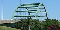 South Sioux City, Nebraska Veterans Bridge from Nebr 2.JPG