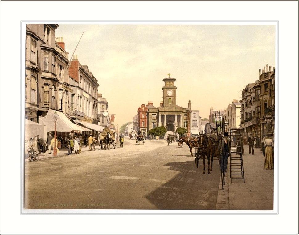 South Street Worthing England
