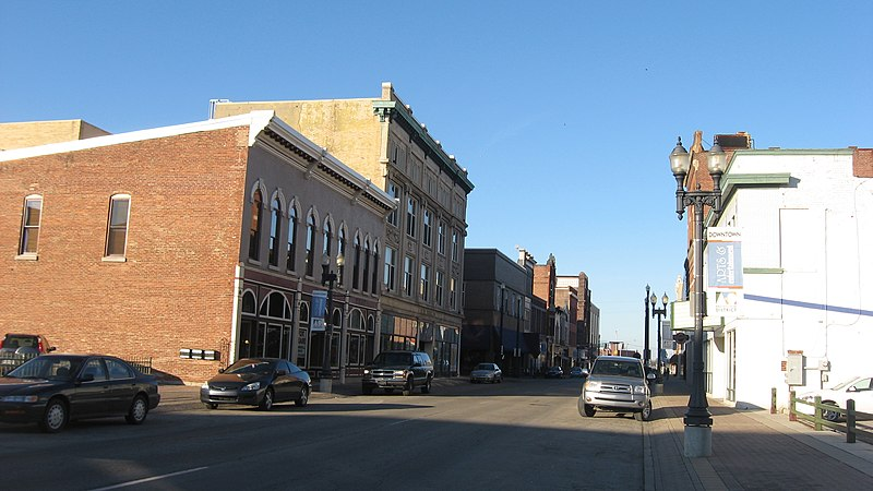 Downtown Muncie, In
