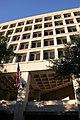 South facade showing second floor viewing arcade - J Edgar Hoover Building - Washington DC - 2012.jpg