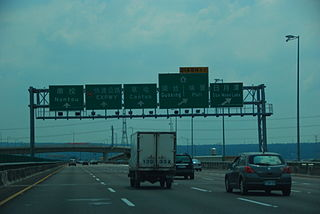 National Freeway 3 Highway in Taiwan