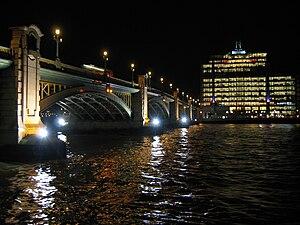 Southwark Bridge - Southwark Bridge at night