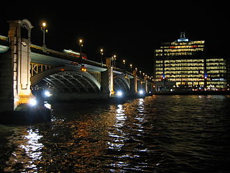 Southwark Bridge - Southwark Bridge at night