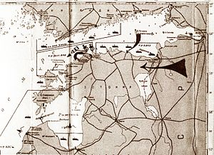 Occupation of the Baltic states - Schematics of the Soviet military blockade and invasion of Estonia in 1940. (Russian State Naval Archives)