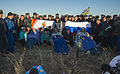 Soyuz TMA-09M crew shortly after landing.jpg