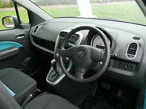 Suzuki Splash - Interior of the Splash