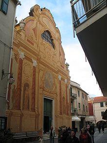 La chiesa parrocchiale della Santissima Annunziata nel centro storico spotornese