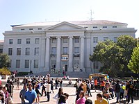 Sproul Plaza during Cal Day 2009 3.JPG