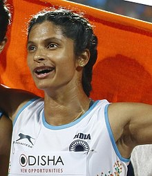 Srabani Nanda Bronze Medalist - Indian Team 2017 (cropped).jpg