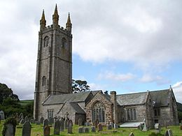 Widecombe-in-the-Moor – Veduta