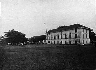 Basic Education High School No. 6 Botataung - St. Paul's High School in the early 1900s