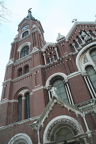 St. Michael's Church, Old Town, Chicago - Image: St.Michael 1
