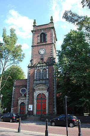Church of St Edmund, Dudley - The tower of St Edmund's