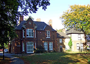 North Lincolnshire Museum - The North Lincolnshire Museum in the old Frodingham St Lawrence vicarage