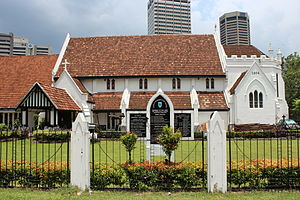 St. Mary's Cathedral, Kuala Lumpur - Image: St. Mary's Cathedral, Kuala Lumpur