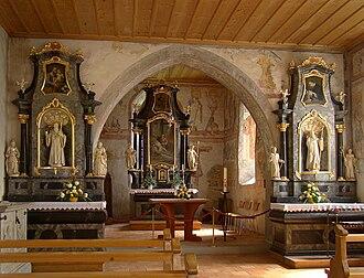 Ennetbürgen - Chapel of St. Jost