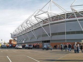 St Mary's Stadium - The Northam Stand