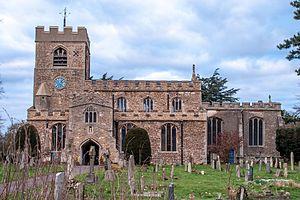 Girton, Cambridgeshire - Image: St Andrew's Church, Girton