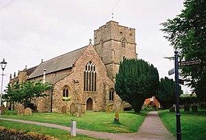 St Andrew's Church, Presteigne - Image: St Andrew's Church, Presteigne. geograph.org.uk 98030