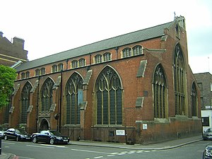 St Cyprian's, Clarence Gate - The exterior of St Cyprian's church